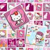 HELLO KITTY 0.75x0.83 Scrabble Tile Pendant size digital images